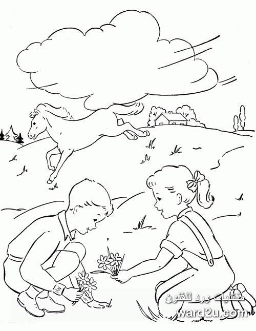 الرسم بالماوس مع الشرح