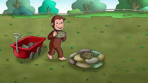 Keep Out Cows; Curious George and the Missing Piece thumbnail