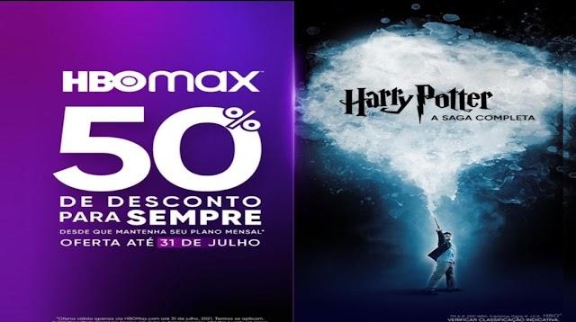 Assista a todos os filmes de Harry Potter com sua assinatura HBOMAX a partir de R$ 9,95/mês