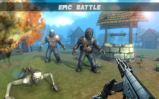 Télécharger Dead Target Army Zombie Shooting Games: FPS Sniper APK MOD 2