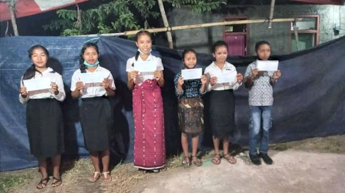 Perayaan Paskah 2021, Komunitas Literasi Waerebo Gelar Lomba Kuis Dan Baca Kitab Suci