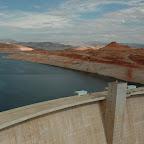 Uitzicht vanaf de dam