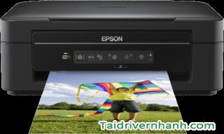 tải và setup phần mềm driver máy in Epson XP-205
