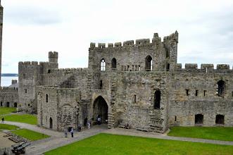 Photo: caernafon castle