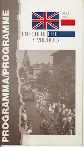 Programmaboekje. Enschede eert bevrijders 1945-1995.