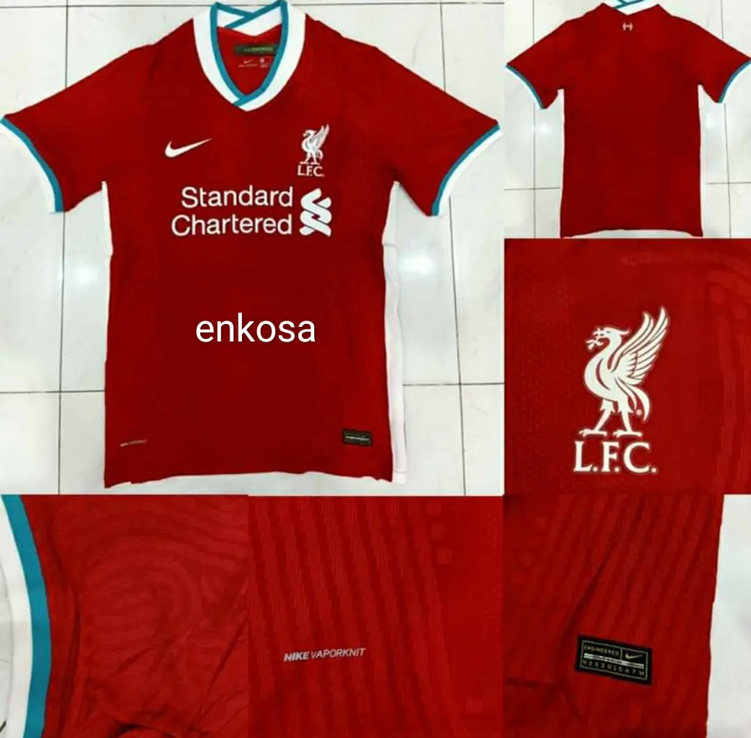 Jual Jersey Leaked Liverpool Home Musim 2020/2021