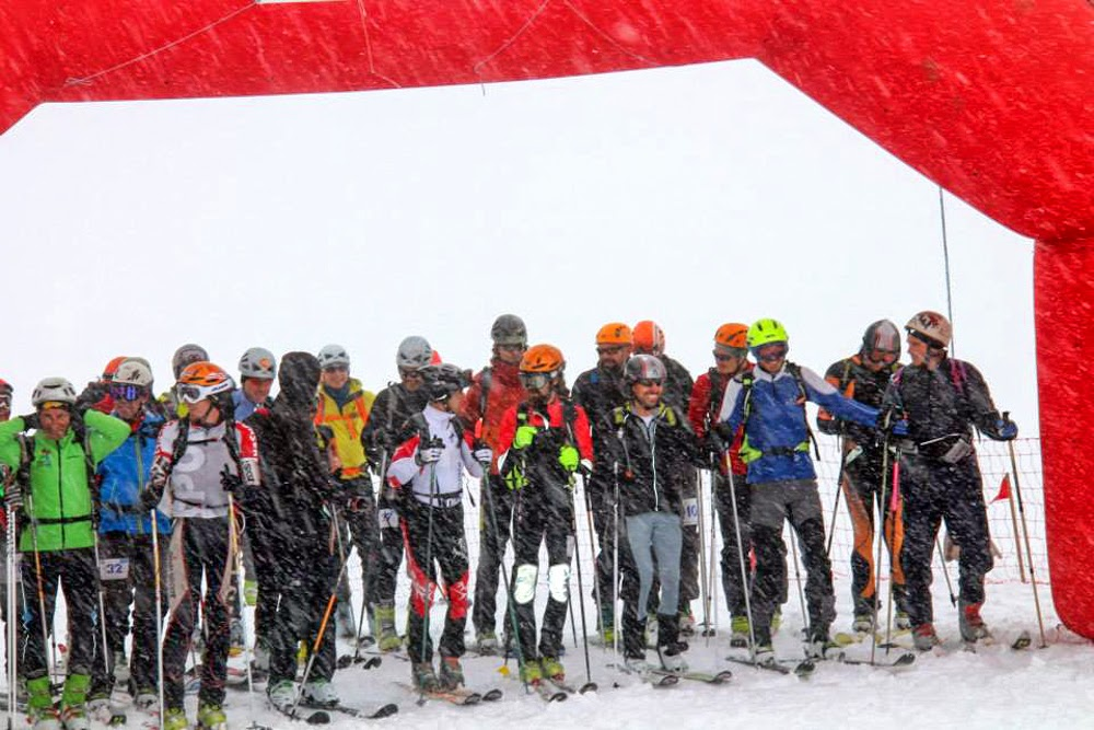 Start SkiAlpinismRace 2014