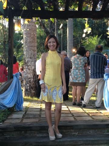 Budget Fashion Seeker - Printed Yellow Dress 2