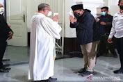 Menteri Agama Hadiri Perayaan Natal di Gereja