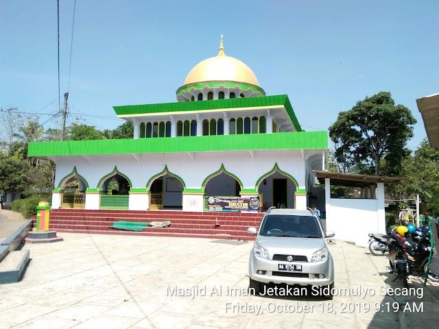 Kegiatan Bersih-bersih Masjid Masjid At Taqwa Dangklik, Krincing dan Masjid Al Iman Jetakan Sidomulyo Candi, Sidomulyo, Kecamatan Secang, Kabupaten Magelang