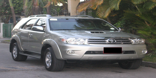 Luzviminda Travel and Tours: Cebu - SUV For Rent (Toyota Fortuner)