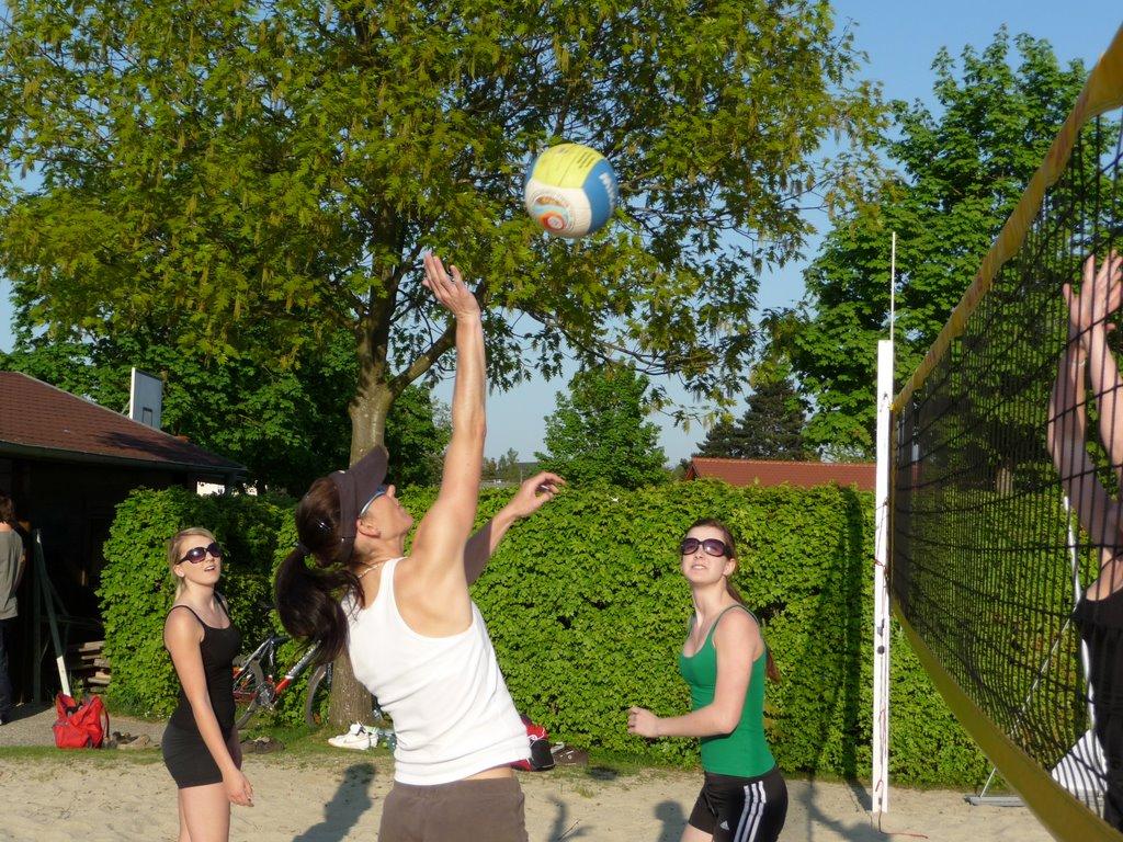 Beachplatz - Damen u. U17 Training