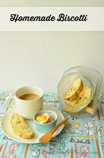 How to make homemade biscotti