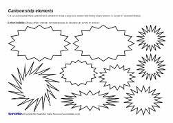 Cartoon Strip Elements Sparklebox