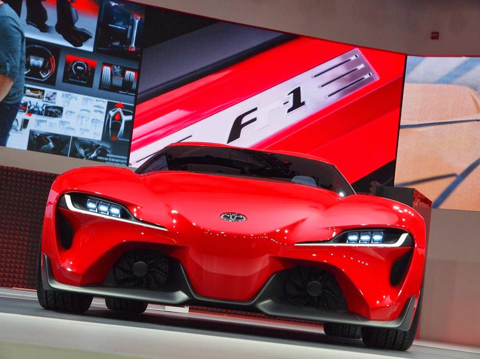 Toyota FT-1 Concept Unveiling 2