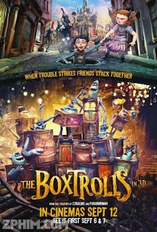 Thế Giới Hộp - The Boxtrolls (2014) Poster