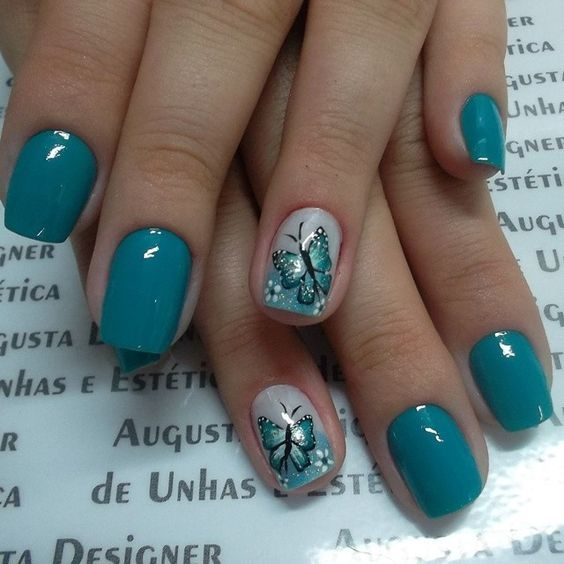 Nail Art Central Park Mall: Beautiful Butterfly Nails For 2018 2019