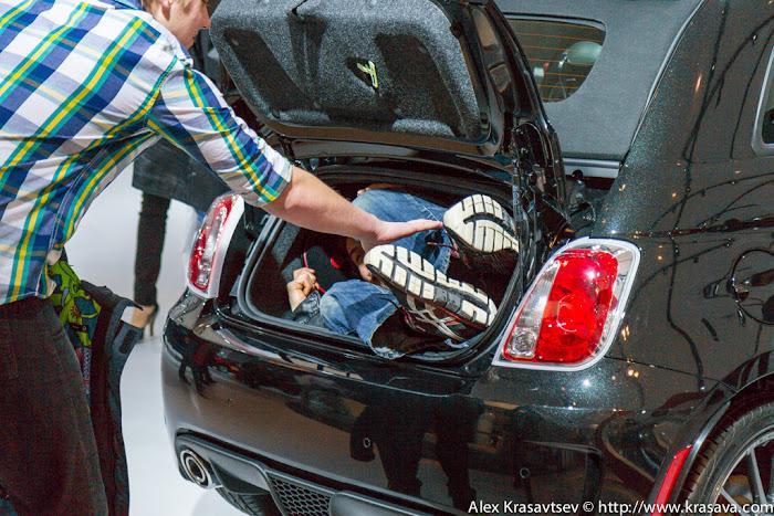 Test drive для Fiat 500