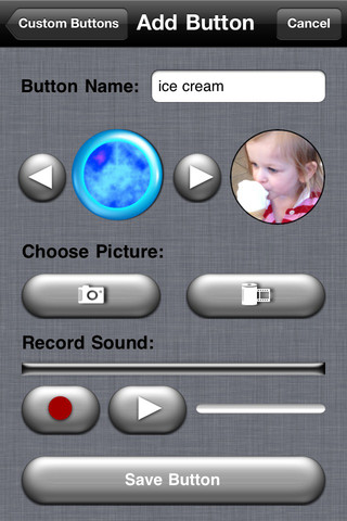 iBaby Buttons Custom Buttons image