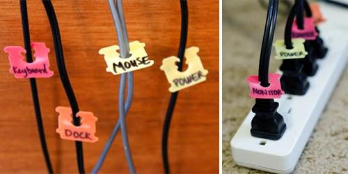 cómo ordenar los cables, clasificar los cables