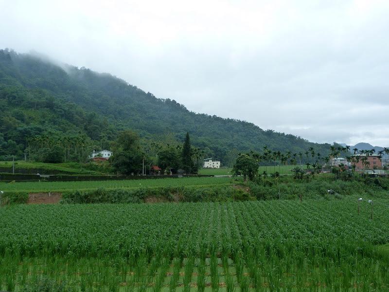 En route vers Sun Mon Lake par le chemin des écoliers