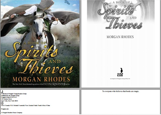 read A book of spirits free online