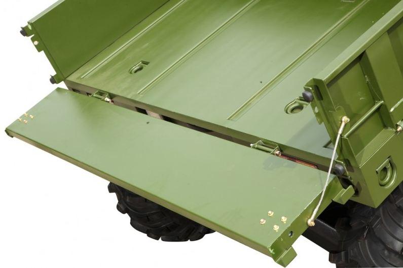 500cc Atomik Agmax Military Farm UTV Green with rear tilt tray