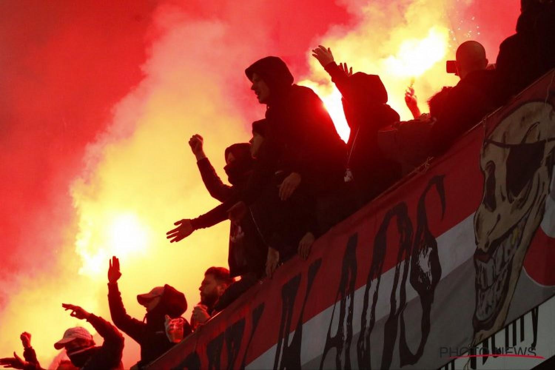 📷 Le message des supporters du Standard avant le Clasico - Walfoot.be