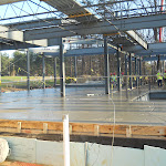 Cement pouring for main floor