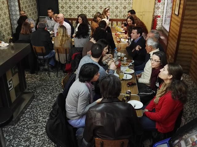 старинные магазины и бары Барселона