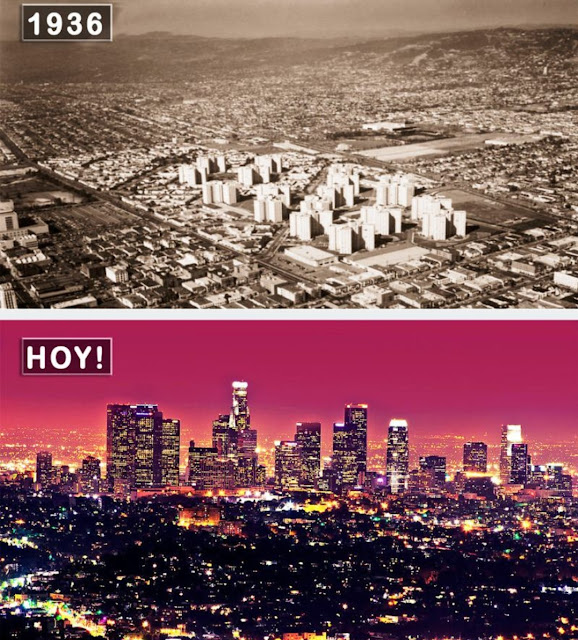 Дивовижні перетворення міст світу. Тоді і зараз