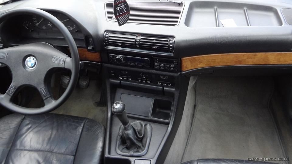 1990 BMW 7 Series 735i Sedan 34L 6 Cyl 4 Speed Automatic