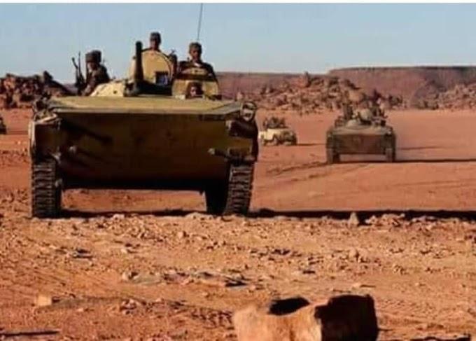 ⭕ Contraofensiva de gran envergadura del Ejército Saharaui a lo largo del muro militar que divide el Sáhara Occidental.