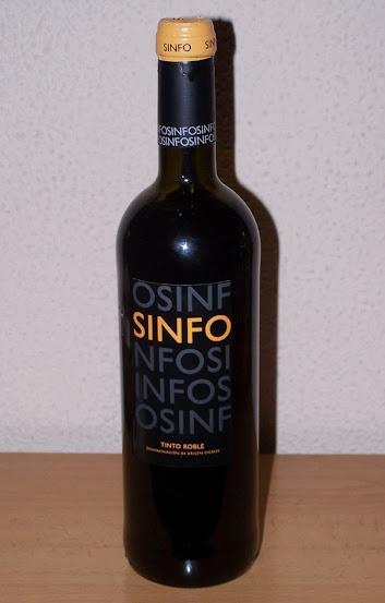 Sinfo Tinto Roble 2011, D.o Cigales