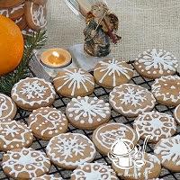 pierniczki okrągłe świąteczne