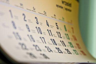 Календарь голодания