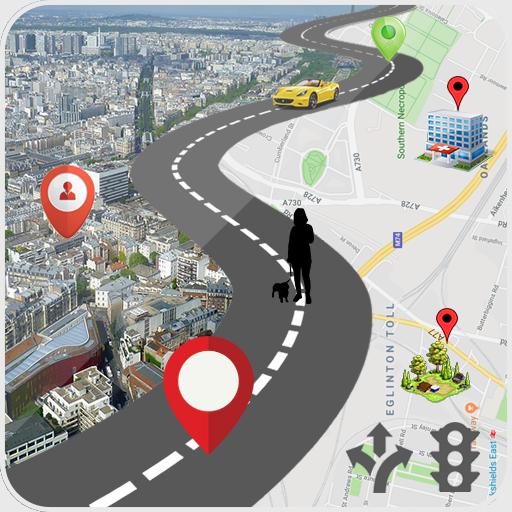 Картинка навигатора маршрут