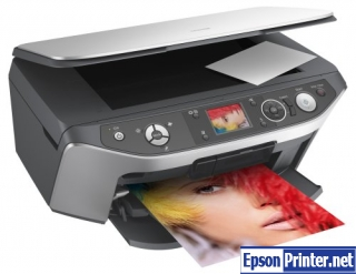 How to reset Epson RX560 printer
