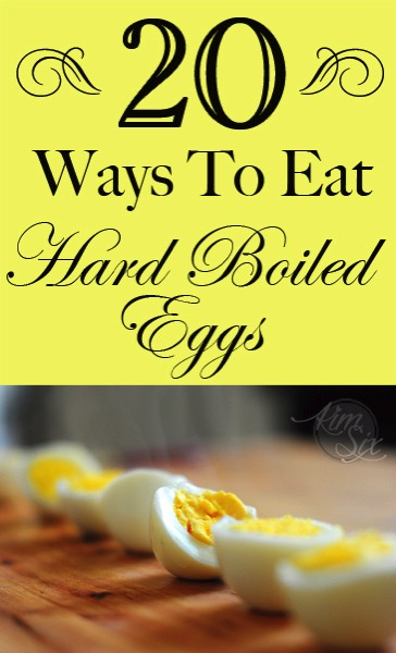 20 Ways to eat hard boiled eggs