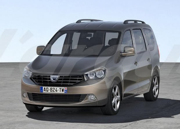 renault 39 s garage popster dacia prepara minivan de sete lugares. Black Bedroom Furniture Sets. Home Design Ideas