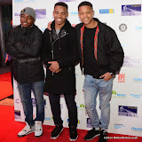 WWW.ENTSIMAGES.COM -    Dee Kartier, Joivan Wade and Percelle Ascott - Mandem on The Wall    at         Nightrider 2015 - VIP launch party at Grange St Paul's Hotel, London November 4th 2014Charity bike ride launches its 2015 challenge. Main event takes place in June 2015                                               Photo Mobis Photos/OIC 0203 174 1069