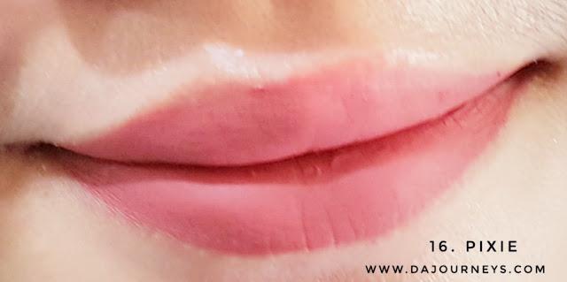 [Review] Make Over Intense Matte Lip Cream Pixie
