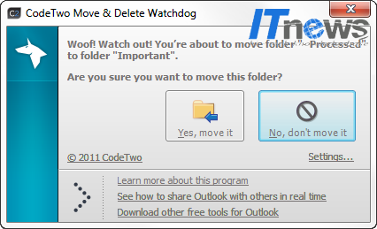 CodeTwo Move Delete Watchdog