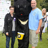 WWW.ENTSIMAGES.COM -   Sue Perkins and Marc Abraham (TV Veterinary Business Development and Coaching Consultant)     at       Pup Aid at Primrose Hill, London September 6th 2014Puppy Parade and fun dog show to raise awareness of the UK's cruel puppy farming trade. Pup Aid, the anti-puppy farming campaign started by TV Vet Marc Abraham, are calling on all animal lovers to contact their MP to support the debate on the sale of puppies and kittens in pet shops. Puppies & Celebrities Return To Fun Dog Show Fighting Cruel Puppy Farming Industry.                                              Photo Mobis Photos/OIC 0203 174 1069
