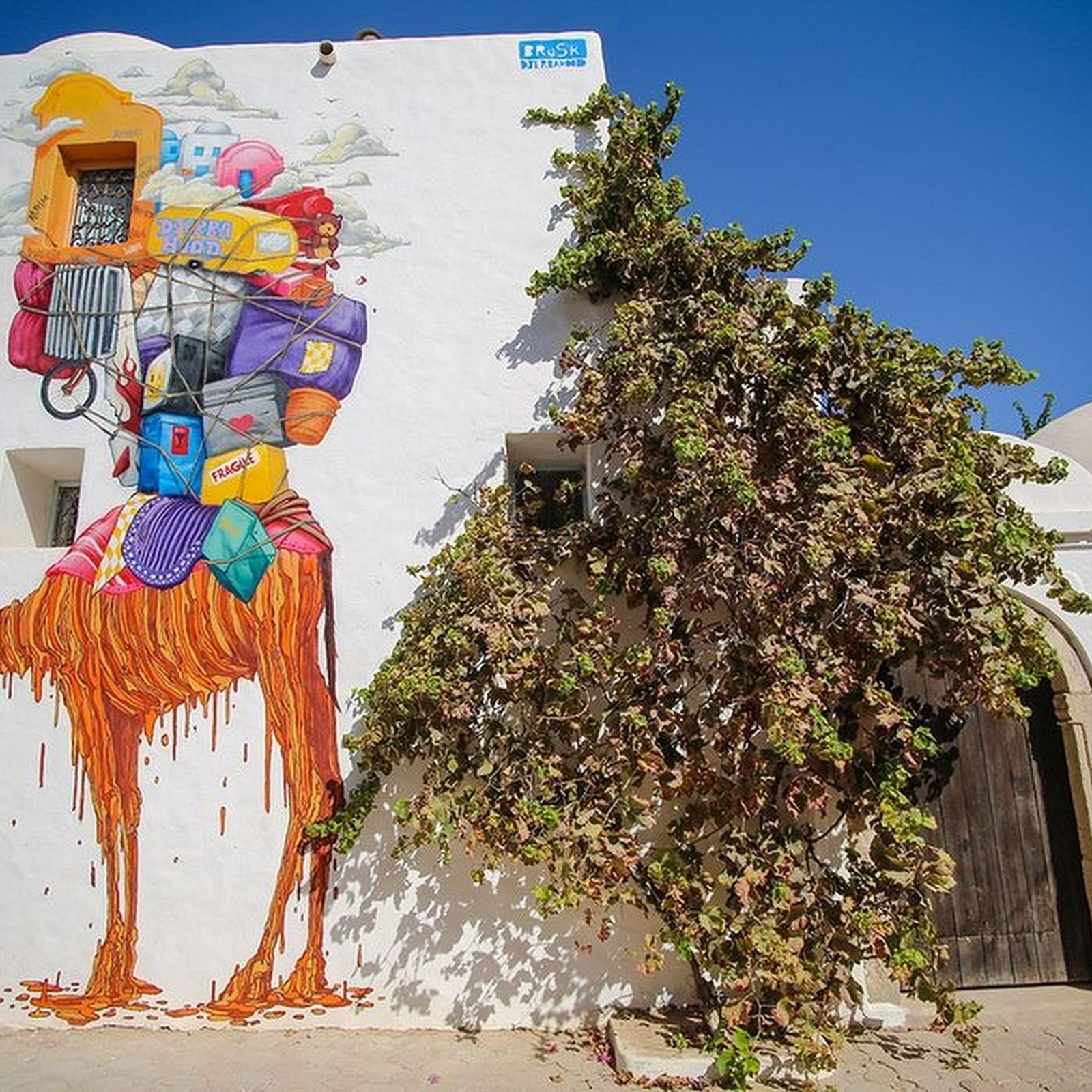 Djerbahood: The Street Art Drive That Transformed A Tunisian Village