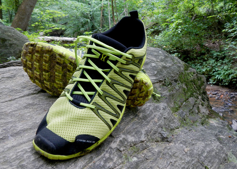 Inov-8 Trailroc 235 on rocks