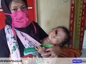 Seorang Ibu Membawa Bayi Kepergok Mencuri Gula, Polsek Lekok Lakukan Mediasi