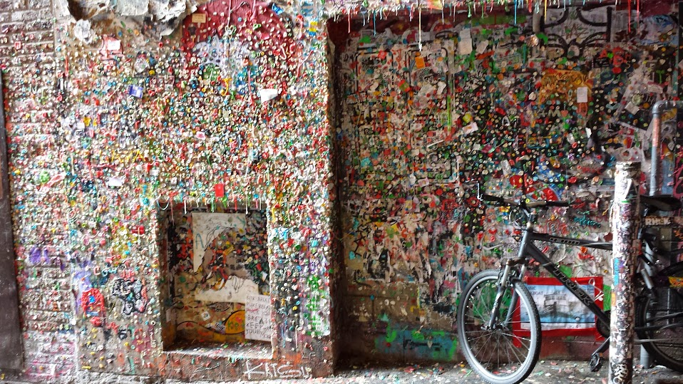 Gum Wall Post Alley Seattle WA