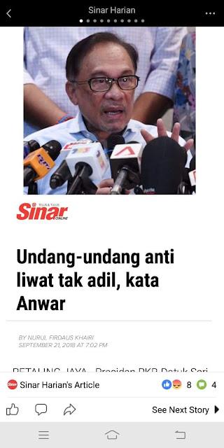 Cerdik Mahathir Pada Anwar Bab Hukum Islam Ni?