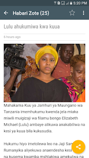 Tanzania Yetu - náhled